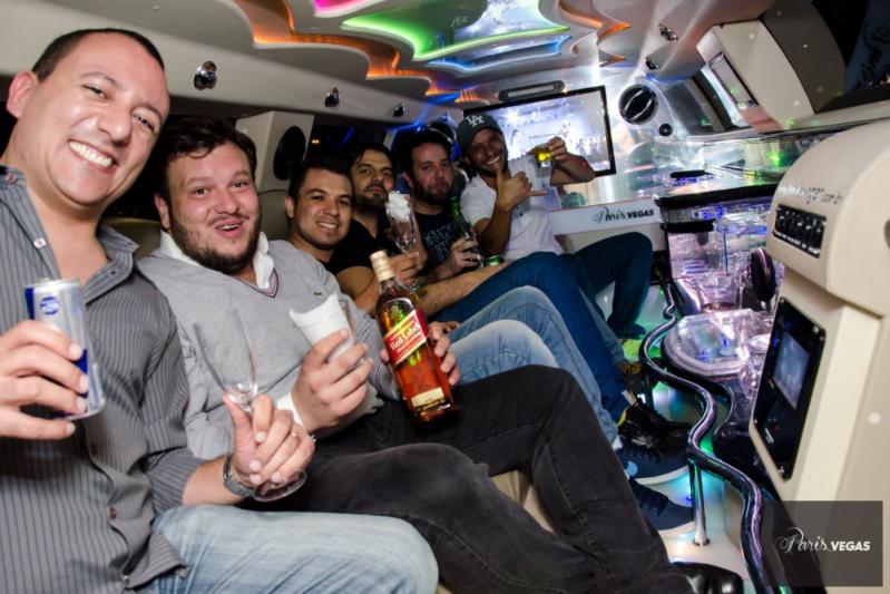 Limousine Balada ABCD - Limousine para Bodas de Casamento