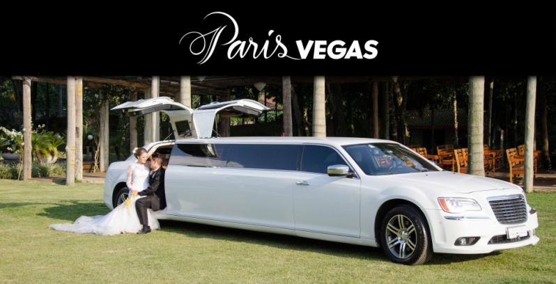 Limousine de Luxo Branca para Casamento Lapa - Limousine de Luxo para Eventos