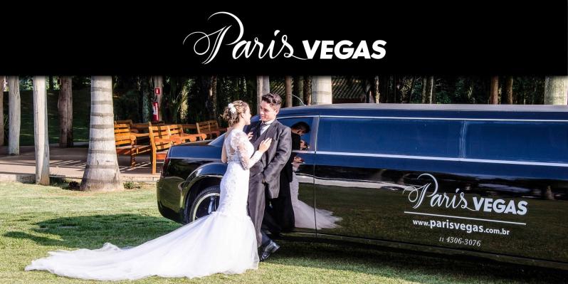 Limousine Luxo Branca para Casamento Itu - Limousine Luxo para Jantar Romântico
