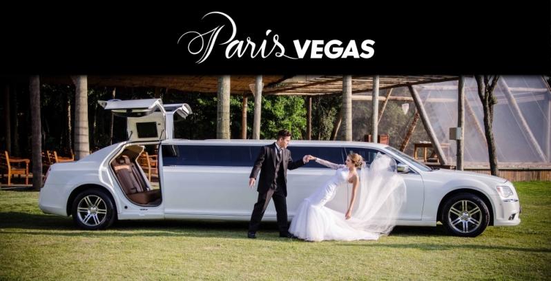 Limousine Luxo Branca para Noivas São Sebastião - Limousine Luxo para Jantar Romântico
