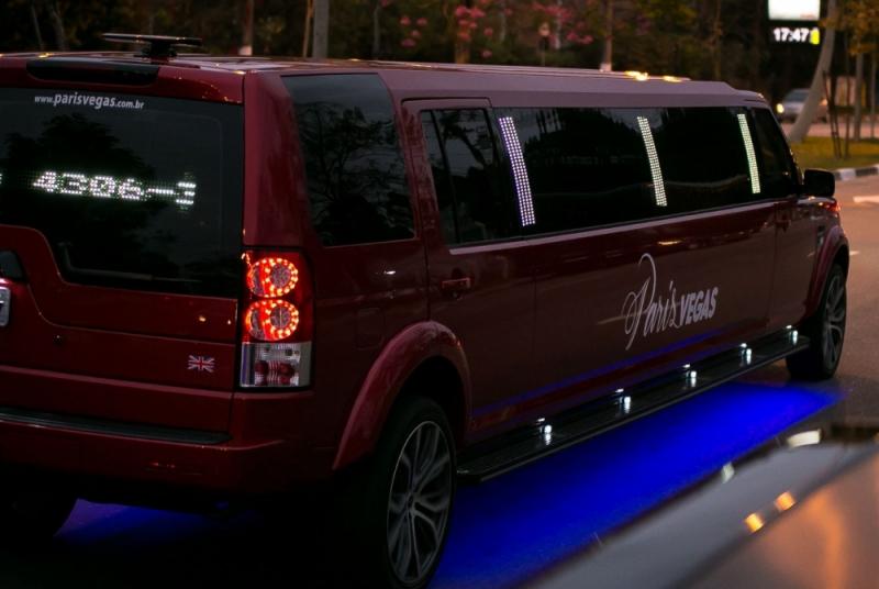 Limousine Luxo para Eventos Ferraz de Vasconcelos - Limousine Luxo para Jantar Romântico