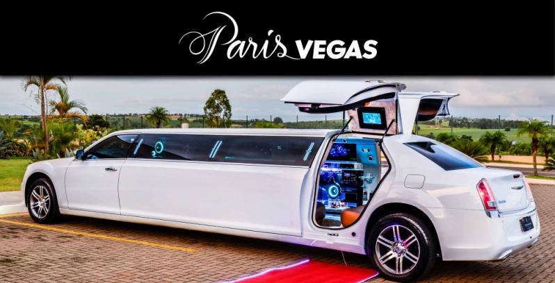 Limousines de Luxo Branca para Bodas de Casamento Ilha Comprida - Limousine de Luxo Branca para Boda de Ouro