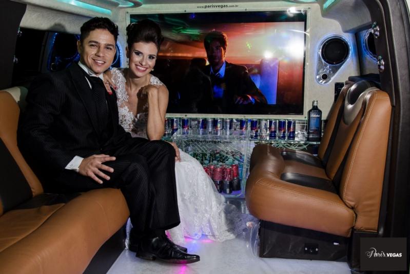 Limousines de Luxo Branca para Casamento Guarulhos - Limousine de Luxo Branca para Noivas