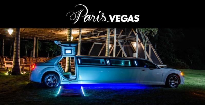 Limousines Luxo Branca para Boda de Ouro Vila Alexandria - Limousine Luxo para Jantar Romântico