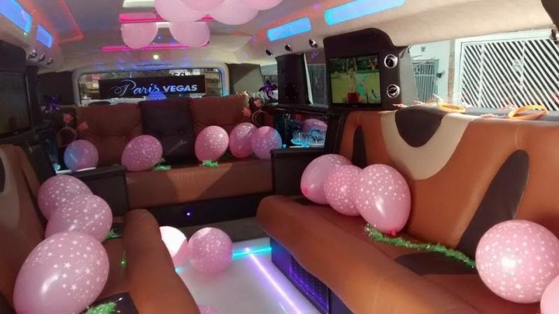 Limousines para Aniversário de 15 Anos Vila Andrade - Limousine para Bodas de Casamento