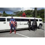aluguel de limousine para carnaval Caierias