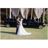 aluguel de limousine para casamento Vila Andrade