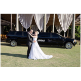 aluguel de limousine para casamento Penha