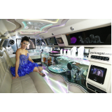 aluguel de limousine para festa de 15 anos Limeira