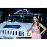 aluguel de limousine para festa debutante preço Vila Lusitania