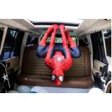 aluguel de limousine para festa infantil com personagem preço Bauru