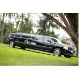 aluguel de limousine preta para festas preço Jardim Guedala