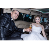 aluguel de limousines de luxo para casamento Pari