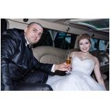 aluguel de limousines de luxo para casamento Jabaquara