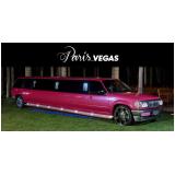 aluguel de limousine de aniversário rosa