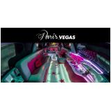 aluguel de limousine para aniversário debutante