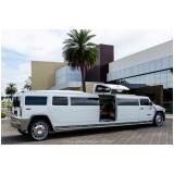 aluguel limousine para eventos empresariais valor Litoral