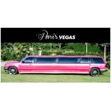aluguel limousines rosa Mendonça