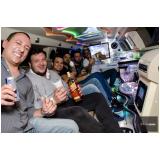 contratar limousine luxo para despedida de solteiro Guararema