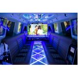 empresa de aluguel de limousine de aniversario 15 anos Rio Claro