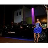 empresa de limousine para dia de princesa Cursino