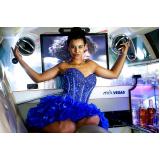 empresa de locação de limousine para dia de princesa Itapecerica da Serra