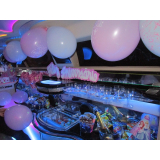 limousine de aniversário Cajamar