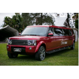 limousine de luxo para ações corporativas Itaim Bibi