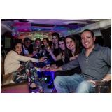 limousine de luxo para formatura Marapoama