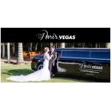 limousine luxo branca para casamento Água Bonita