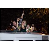 limousine luxo para despedida de solteiro Sorocaba
