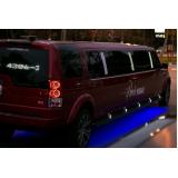 limousine luxo para eventos Campo Belo