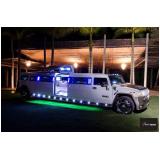 limousine para ações promocionais para locar São Vicente
