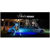 limousines luxo branca para boda de ouro Itapevi
