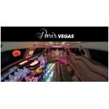 limousine luxo para ações corporativas