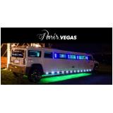 limousine luxo para despedida de solteiro