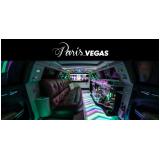 limousine luxo para jantar romântico