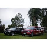 limousines para ações promocionais Vila Anastácio