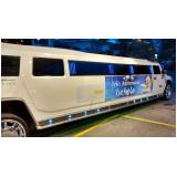 limousine de aniversário infantil
