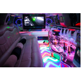 limousine preta para aniversário