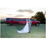 limousine aluguel casamento
