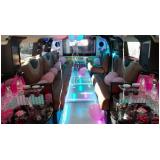 locação de limousine para aniversário de 15 anos Amparo