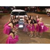 locação de limousine para aniversário debutante Glicério