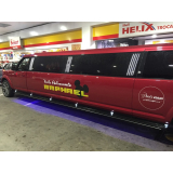 onde encontro aluguel de limousine preta para festas infantis Vargem Grande Paulista