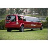 quanto custa aluguel de limousine para debutante Barra Funda